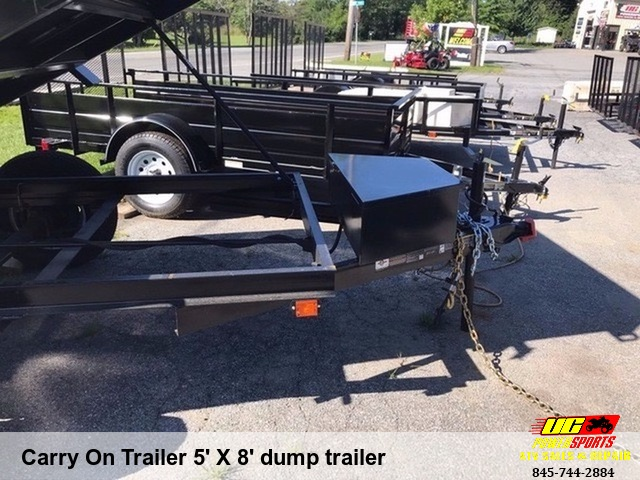 Carry On Trailer 5' X 8' dump trailer