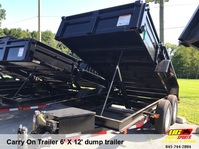 Carry On Trailer 6' X 12' dump trailer