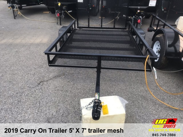2019 Carry On Trailer 5' X 7' trailer mesh
